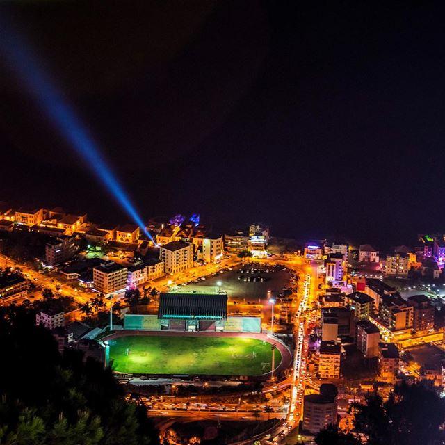 jounieh lebanon night ... (Jounieh - Lebanon)