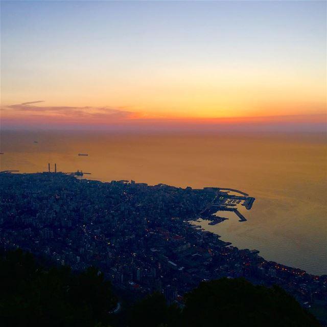 لبنان حريصا hdrphotography hdr_pics hdr harissa jounieh jouniehbay... (Our Lady of Lebanon)