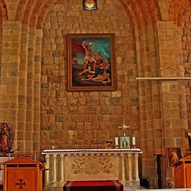 saintelie kartaba lebanon jbeil church ...