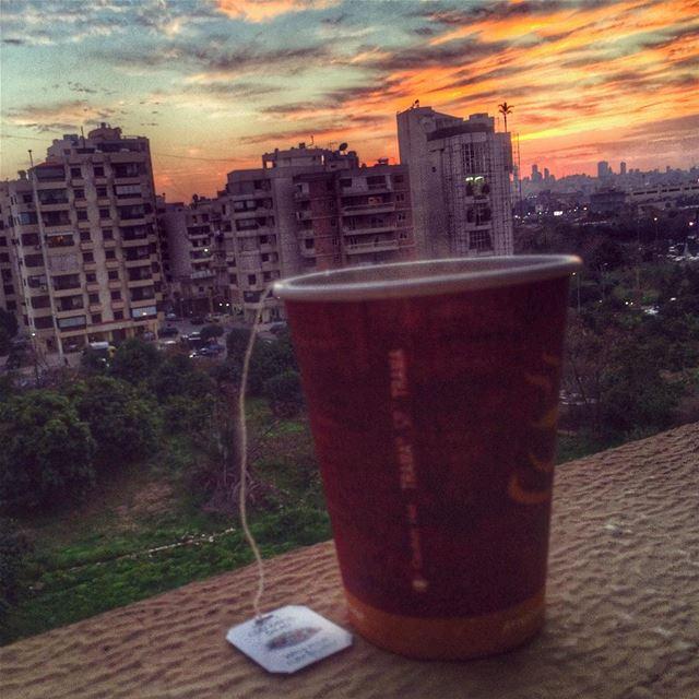 Enjoy every sunset 😎🌅🌇🌆 livelovebeirut wearelebanon lebanon... (Zallka)