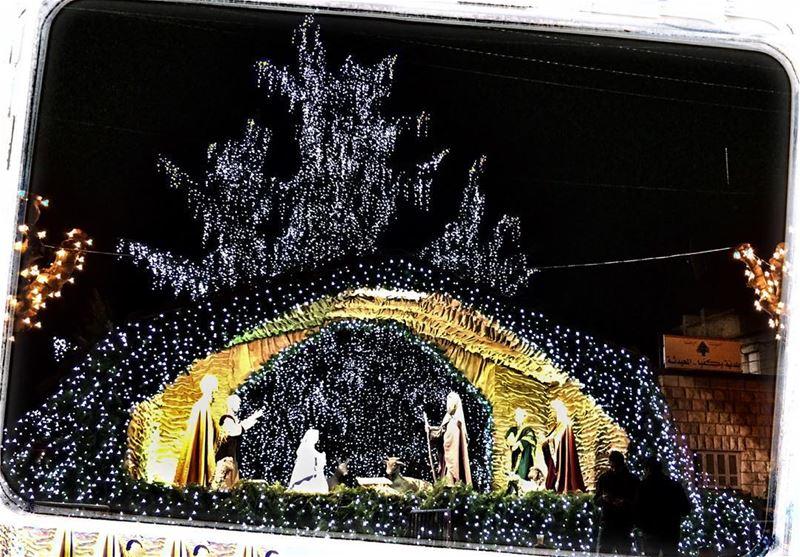 Exactly 1 more week for Christmas 🎅🎄😍 livelovechristmas ... (Bikfayya, Mont-Liban, Lebanon)