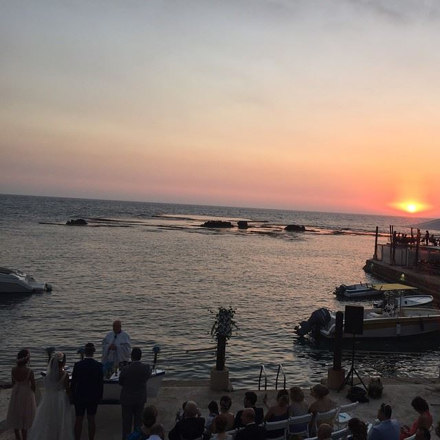 sunset jbeil wedding beautiful...