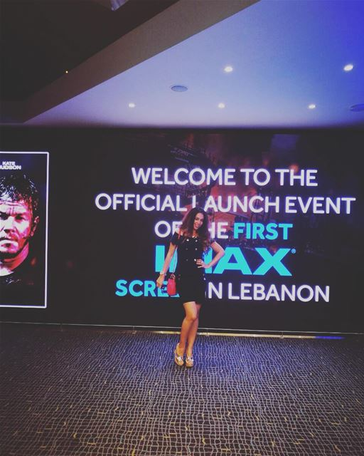For the loveof Movies technology IMAX 3Dthe launch of the first IMAX ... (VOX Cinemas - Lebanon)