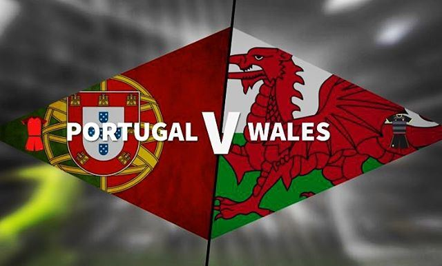 wales vs portugal tonight at jalsat restaurant is the best! ...