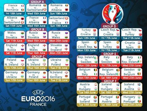 eurocup2016 schedule it starts tomorrow!!!!! Join us at jalsat ...
