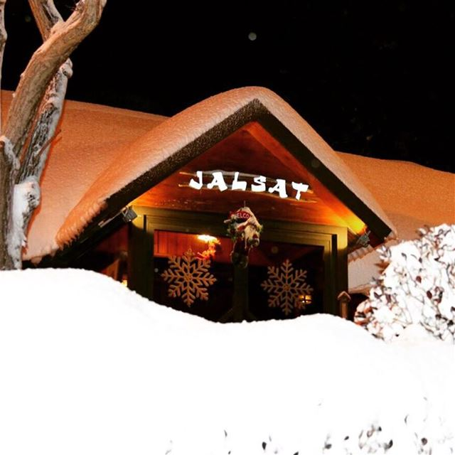 Absolutely magnificent! jalsat restaurant snow livelovemayrouba relax...