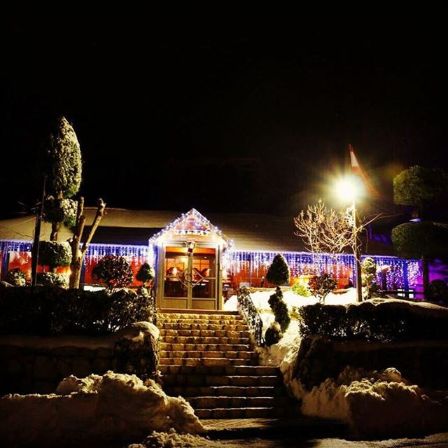 Let it snow... Let it snow... snow mountain mayrouba restaurants ...
