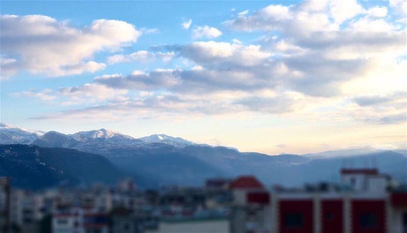 أين أنا من عالمك؟ snow mountain lebanon insta_lebanon nikon camera ... (Chouf)