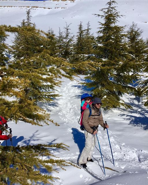 Respect 😍!...... welivetoexplore lebanon livelovelebanon ... (Qanat Bakish, Mont-Liban, Lebanon)