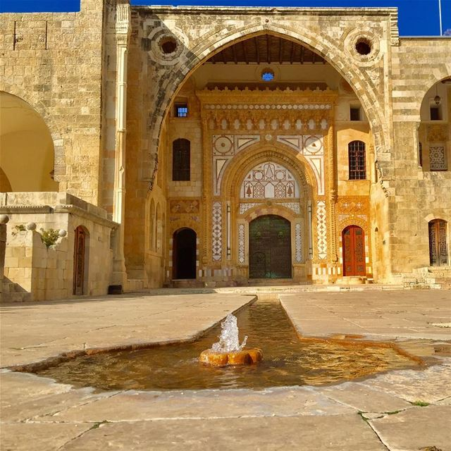 "Imagine yourself in a such place at the 19th century ""emir Bachir Chehab... (Beit Ed-Deen, Mont-Liban, Lebanon)"