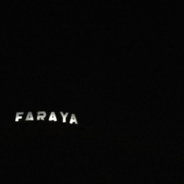 Faraya before the storm faraya livelovefaraya lebanon atnight ... (Faraya)