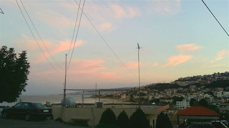 Pink clouds and blue skies😻 lebanon pink clouds lebanonbyalocal ...
