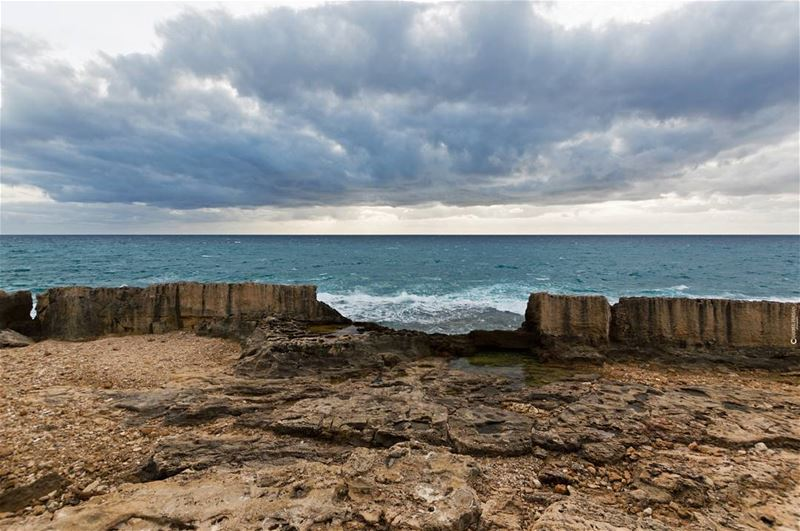 5,000+ years and still resisting storms www.charbelfersan.com © All... (Phoenicien Wall)