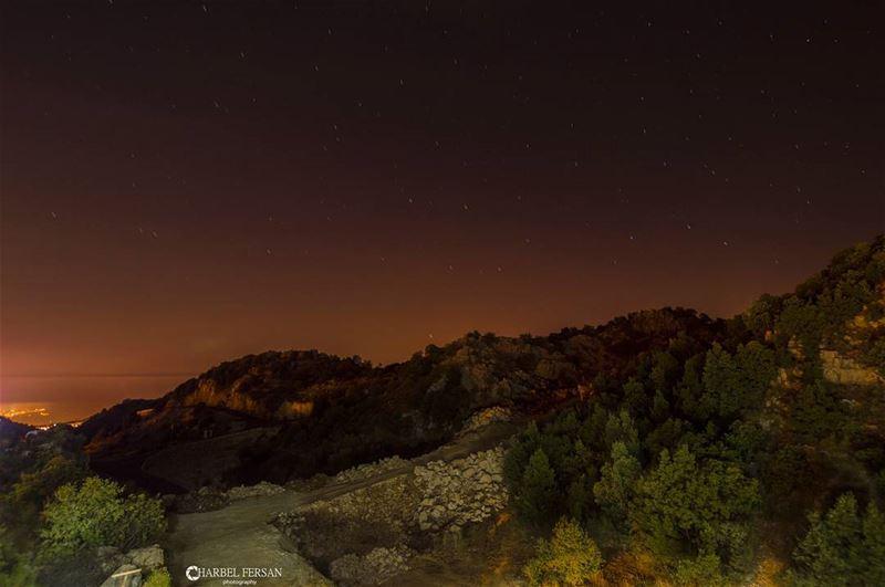 Stars Can't Shine Without Darkness 🌟🌑 www.charbelfersan.com - © All... (Feitroun, Mont-Liban, Lebanon)