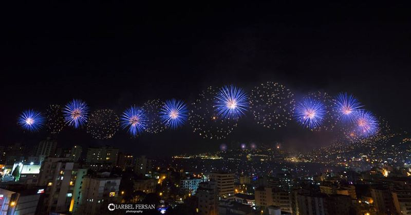 Jounieh International Festival 2016 opening fireworks 🎆...