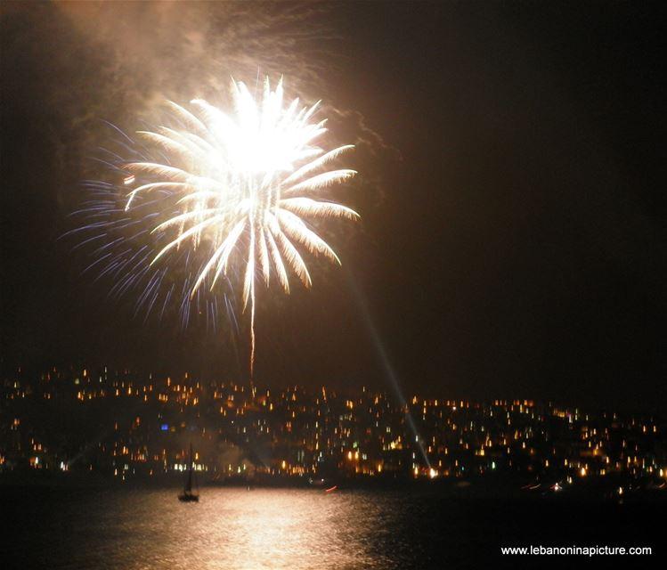 Jounieh Fireworks Summer 2011