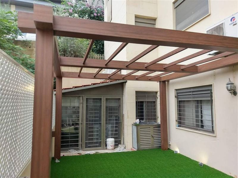 Terrace lebanon in a picture for Terrace pergola