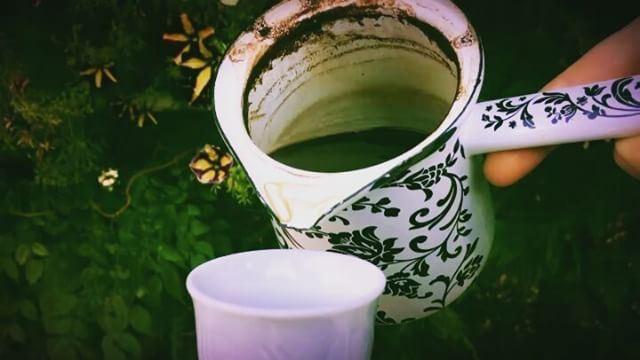 أيقظني بهدوء الصباح ......🍃 قهوتنا قهوة_الصباح قهوه قهوه_تركيه روقان_