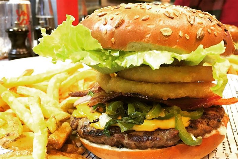 The way to my heart. burger burgeraddict classicburgerjoint cbj ... (Classic Burger Joint Hazmieh)