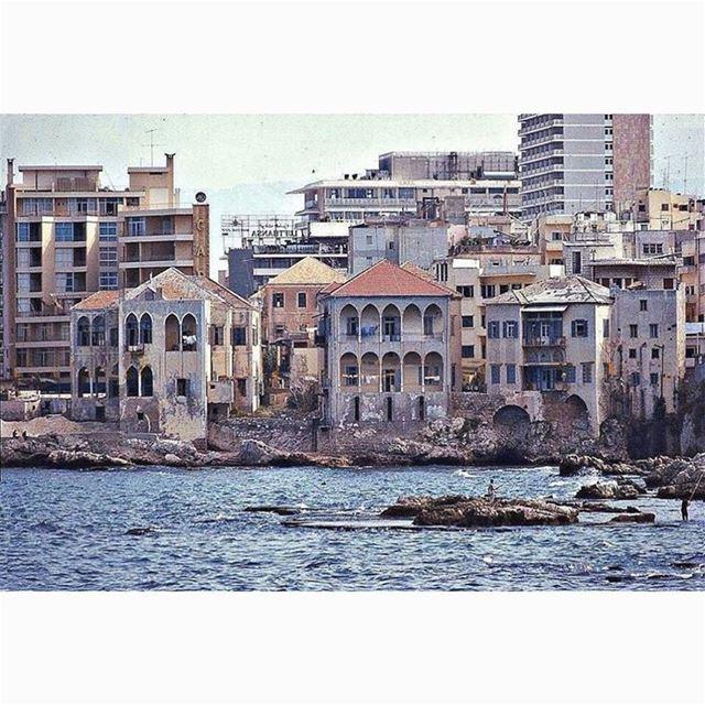 بيروت عين المريسة عام ١٩٧١
