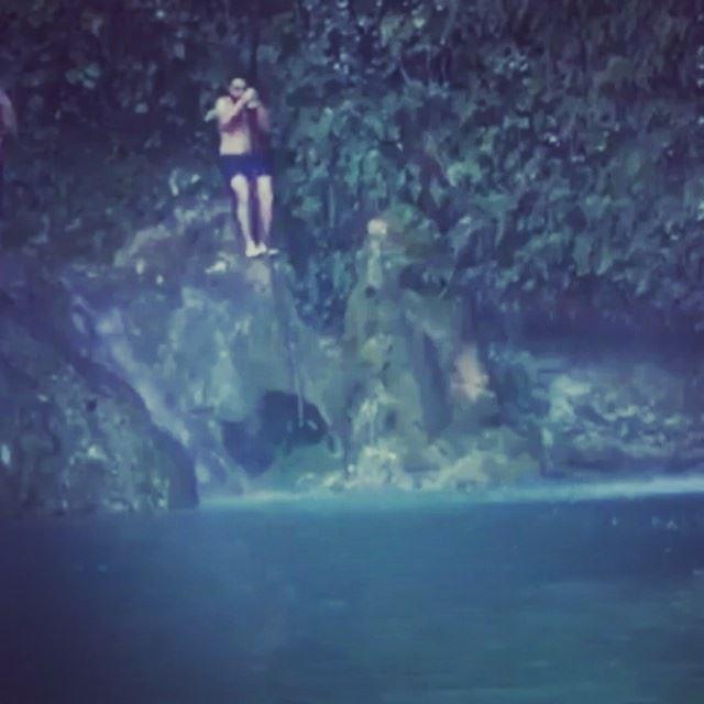 drowning sinking titanic river baakline swimming swinging ... (Baakline, Mont-Liban, Lebanon)