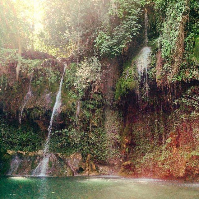 nature lebanon baakline village river waterfall summer weekend ... (Baakline, Mont-Liban, Lebanon)