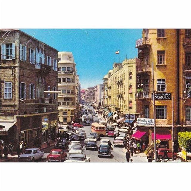 بيروت شارع ويغان عام ١٩٦٩