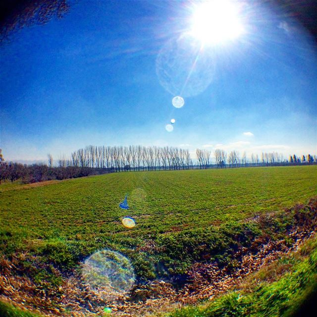Go out there and embrace God's work of art! photography landscape ... (Taanayel- Bekaa)