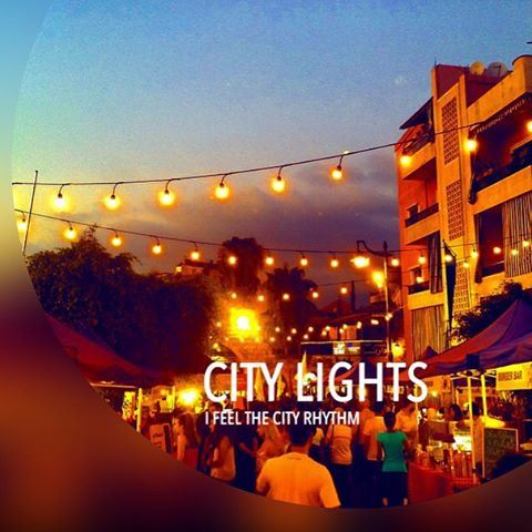 Feel the  city  rhythm.  lights  night  festival  zoukmkayel  soukelakel ...