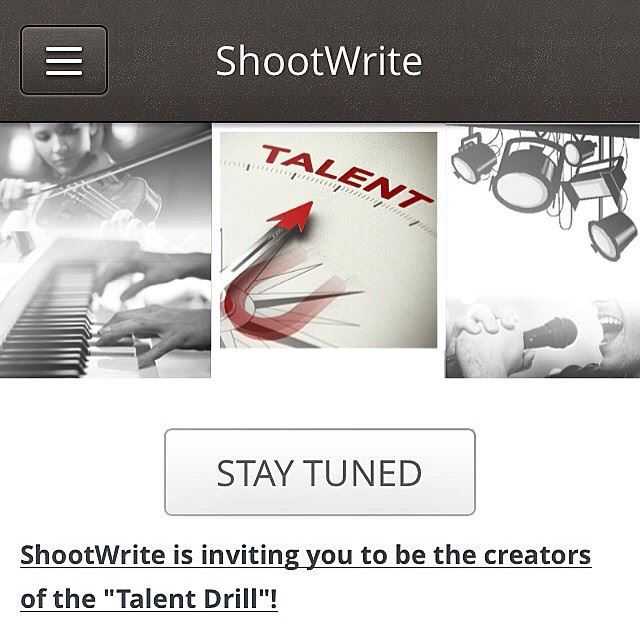 """The wait is over!! Shootwrite's """"Talent Drill"""" is now live! All thanks to..."""