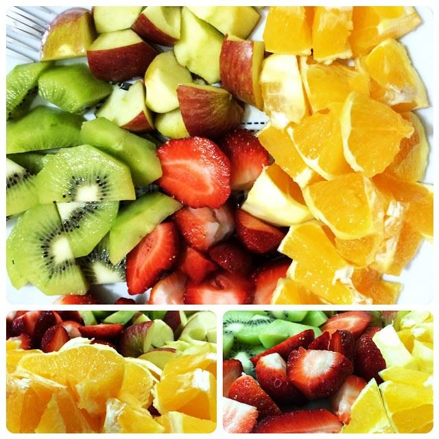 Stay colorful! Stay healthy! Stay original! enjoy dessert nighty ...