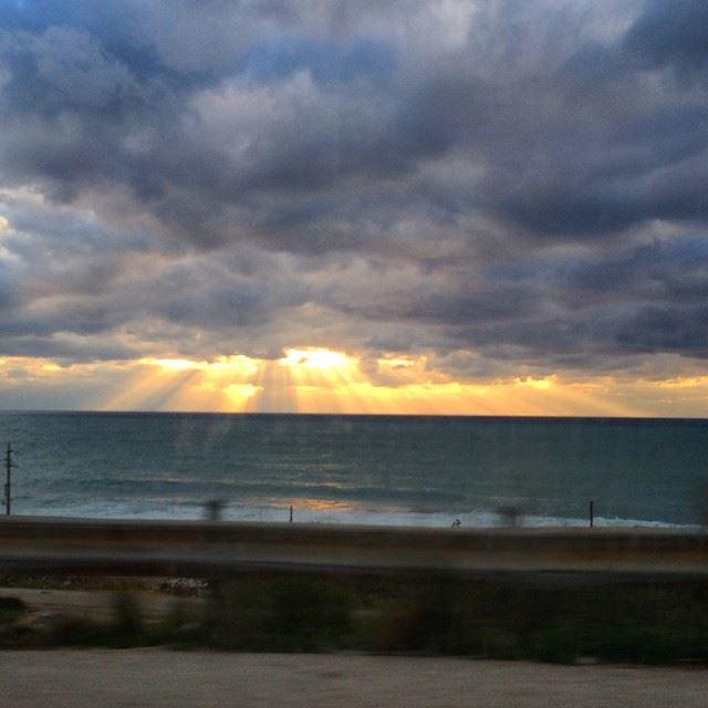 Batroun sky today over the sea nofilter sky cloudy sea sunlight...