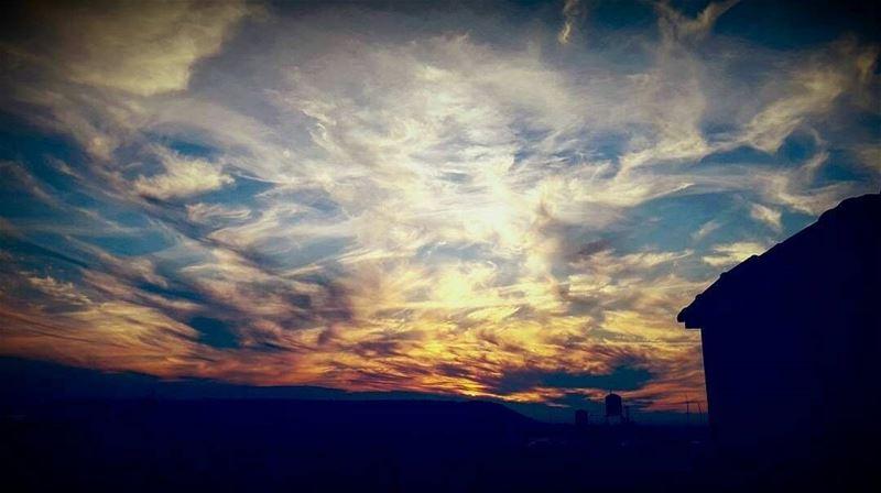 sunset clouds cloudysky lebanonspotlights insta_lebanon ... (Mejdlaya-Zgharta)