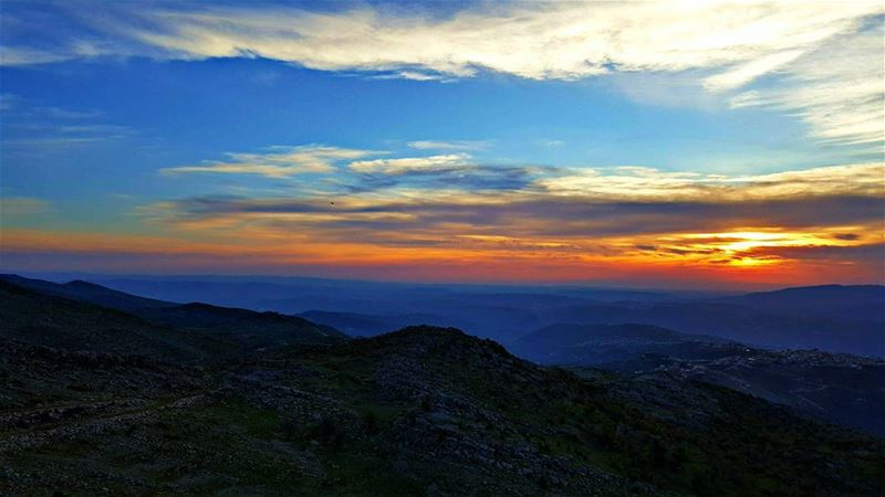 beautiful scenery instanaturelover instanature wilderness mountains ... (Mount Hermon)