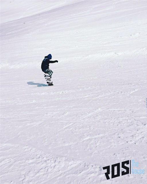 The original Mr. Buttersworth himself, @ronyaouad cruising down the... (Mzaar Ski Resort)
