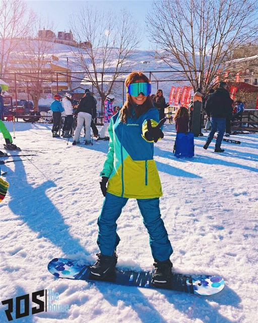 ☀️Suns out so get your buns out to the slopes. We're here and there's tons... (Mzaar Ski Resort)