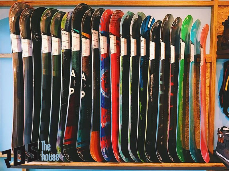 We've got boards unpacked and stocked in every color under the sun. This... (Republic of Sports - The House)