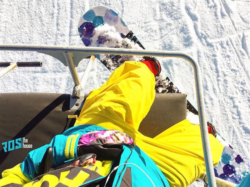 She's got the looks rosthehouse snow snowboard snowboarding pow ... (Mzaar Kfardebian Ski Resort.)