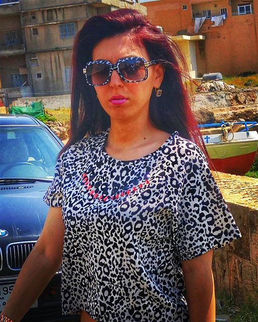 OMG im so cute🙈😻👊💟In loooove with...my hair 😻 stephanie fashion ... (Anfeh - Koura)