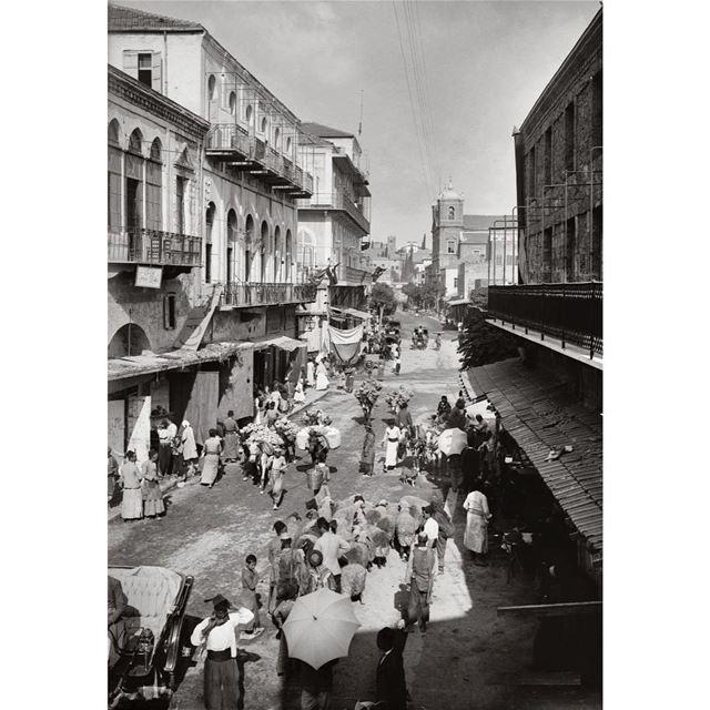 بيروت الجميزة عام ١٩١٢