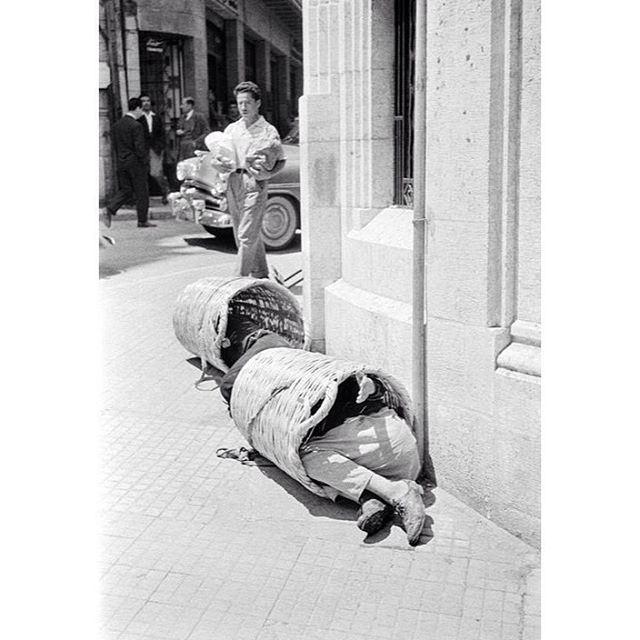 وسط بيروت عام ١٩٥٥