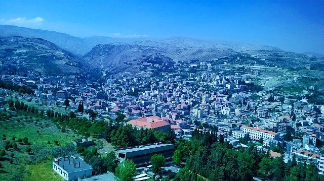 What an amazing city full of surprises😍 Zahle.. The first place I ever... (Zahlé, Lebanon)