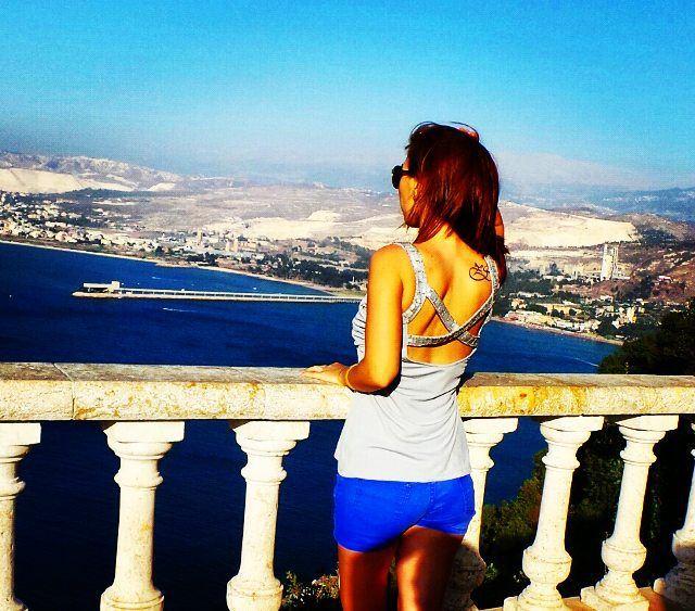 Lebanon through my eyes❤🗻 stephanie followme lebanon havingfun ... (Saydet El Nourieh)