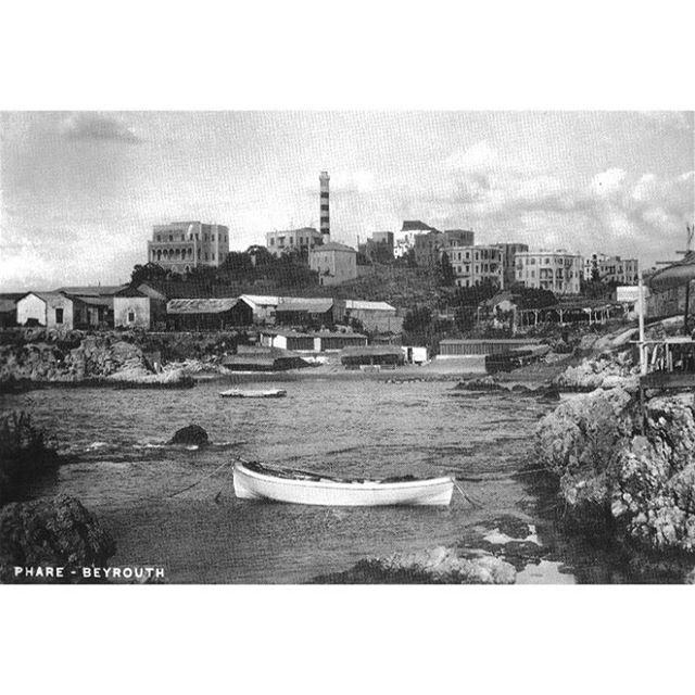 بيروت المنارة عام ١٩١٩