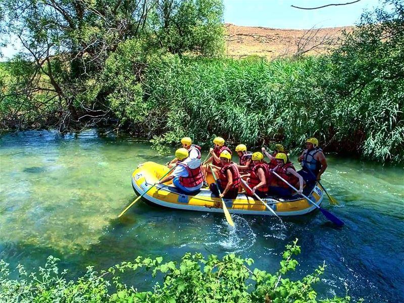 assiriver rafting hermel lebanonrafting waterevent wateractivity ... (Assi River Hermel)