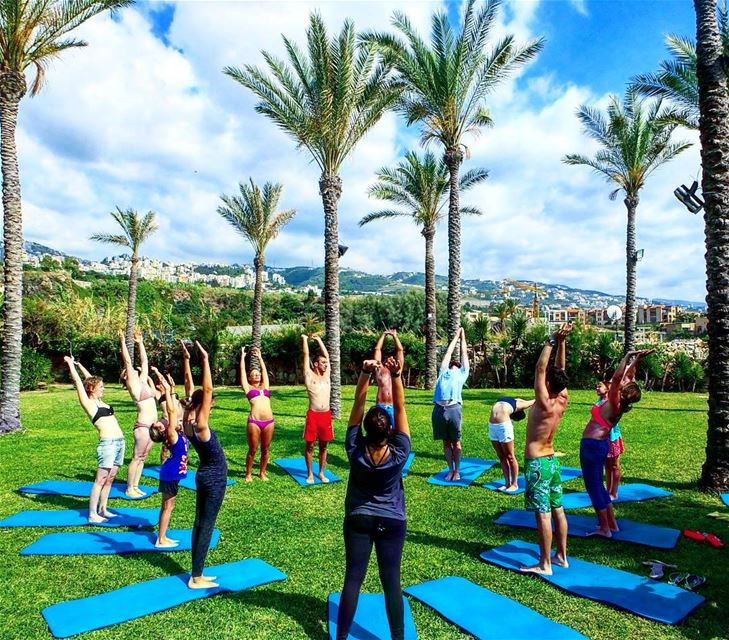 eddesandsresort eddesandslebanon wellness yoga yogalebanon ... (Edde Sands , Jbeil)
