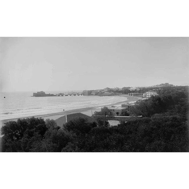 صيدا عام ١٩١٢ ،Saida in 1912