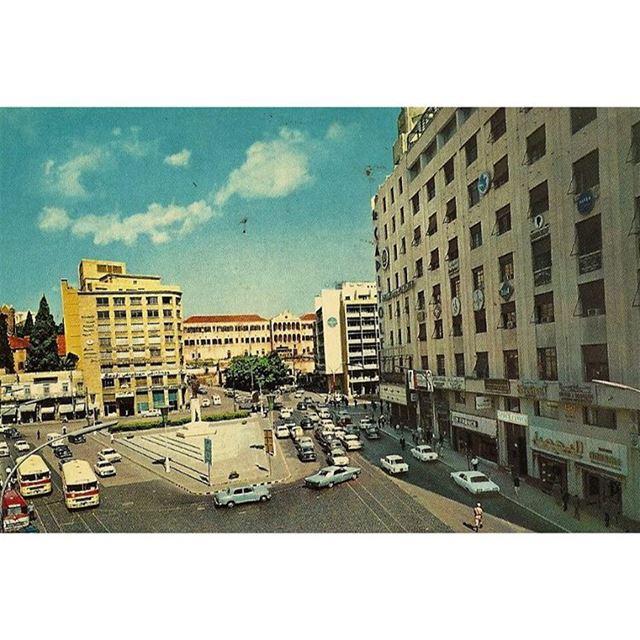 بيروت رياض الصلح عام ١٩٧٠
