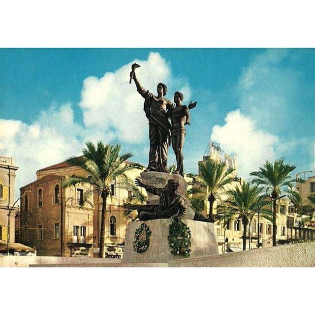 بيروت ساحة الشهداء عام ١٩٧١