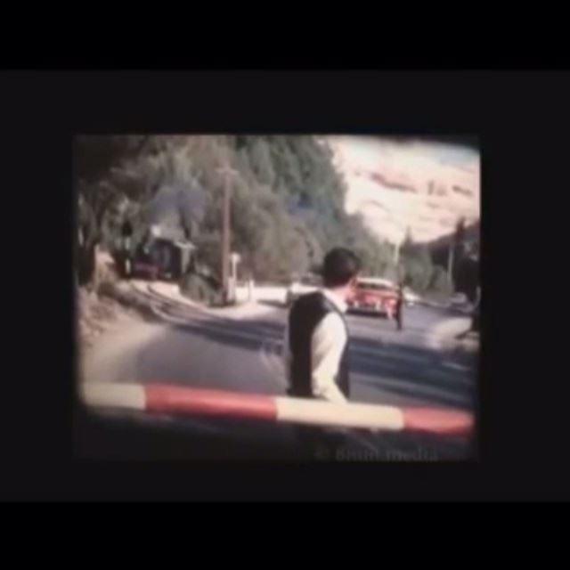 The Lebanese Train, Lebanon in 1964 (Video)